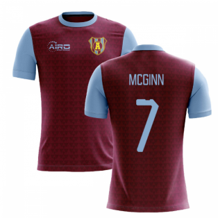 2020-2021 Villa Home Concept Football Shirt (McGinn 7)