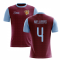 2020-2021 Villa Home Concept Football Shirt (Mellberg 4)