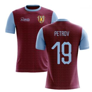 2019-2020 Villa Home Concept Football Shirt (Petrov 19)