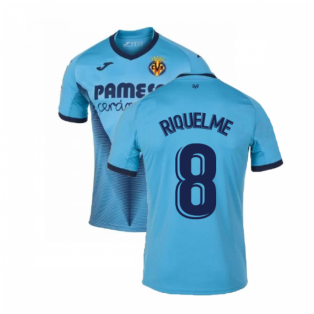 2019-2020 Villarreal Joma Third Football Shirt (RIQUELME 8)