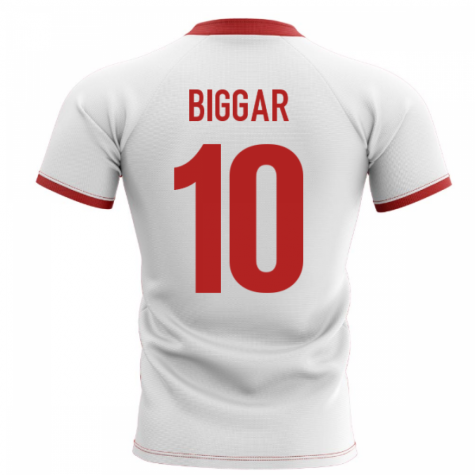 2020-2021 Wales Flag Concept Rugby Shirt (Biggar 10)