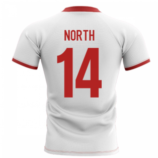 2019-2020 Wales Flag Concept Rugby Shirt (North 14)