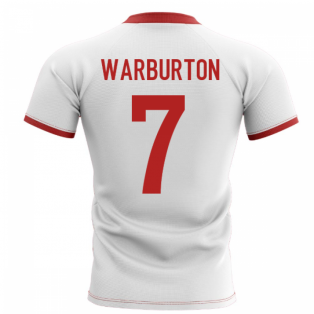 2019-2020 Wales Flag Concept Rugby Shirt (Warburton 7)