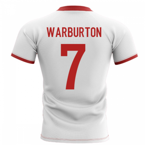 2020-2021 Wales Flag Concept Rugby Shirt (Warburton 7)