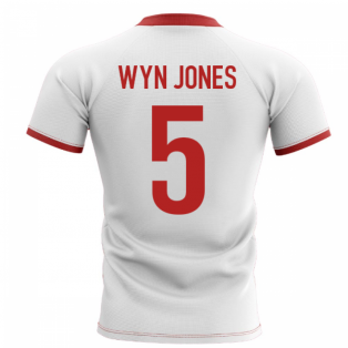 2019-2020 Wales Flag Concept Rugby Shirt (Wyn Jones 5)