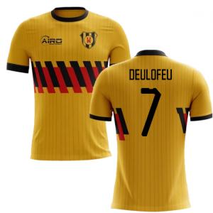 2020-2021 Watford Home Concept Football Shirt (Deulofeu 7) - Kids