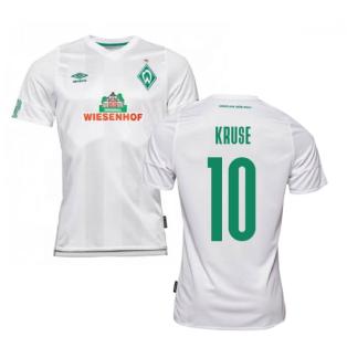 2019-2020 Werder Bremen Away Football Shirt (KRUSE 10)