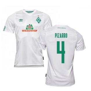 2019-2020 Werder Bremen Away Football Shirt (PIZARRO 4)