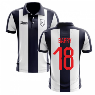 2019-2020 West Brom Home Concept Football Shirt (Barry 18)