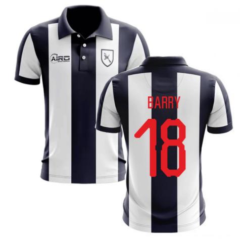 2020-2021 West Brom Home Concept Football Shirt (Barry 18)