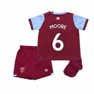 2019-2020 West Ham Home Baby Kit (MOORE 6)