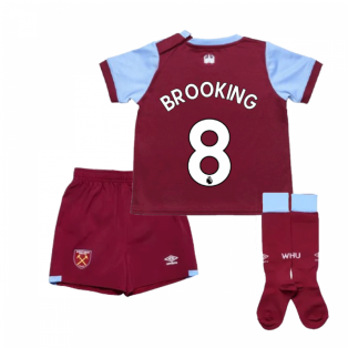 2019-2020 West Ham Home Little Boys Mini Kit (BROOKING 8)