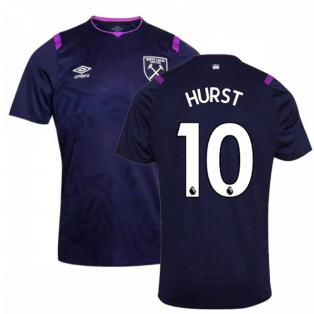 2019-2020 West Ham Third Football Shirt (Kids) (HURST 10)