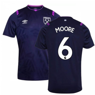 2019-2020 West Ham Third Football Shirt (Kids) (MOORE 6)