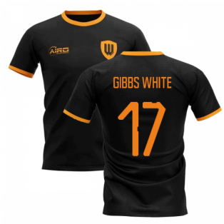 2019-2020 Wolverhampton Away Concept Football Shirt (GIBBS WHITE 17)