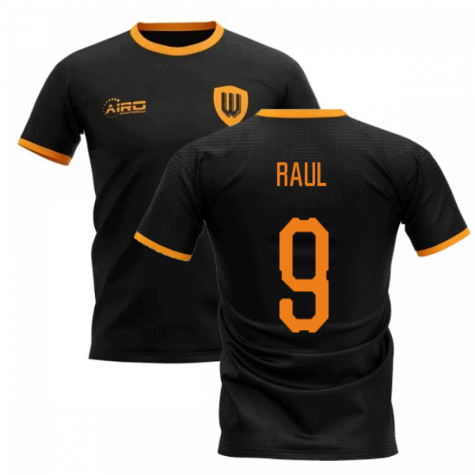 2020-2021 Wolverhampton Away Concept Football Shirt (RAUL 9)