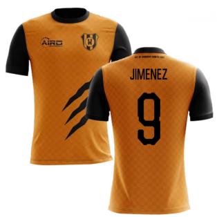 fb0f0a7b5d0 2019-2020 Wolverhampton Home Concept Football Shirt (Jimenez 9)