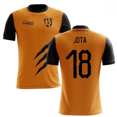 2019-2020 Wolverhampton Home Concept Football Shirt (Jota 18) - Kids