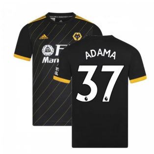 2019-2020 Wolves Away Football Shirt (ADAMA 37)