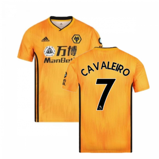 2019-2020 Wolves Home Football Shirt (CAVALEIRO 7)
