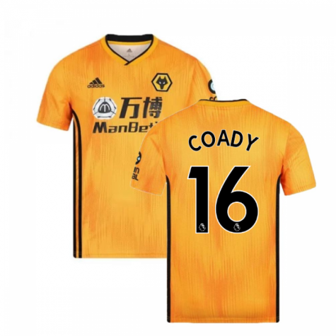 2019-2020 Wolves Home Football Shirt (COADY 16)