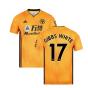 2019-2020 Wolves Home Football Shirt (GIBBS WHITE 17)