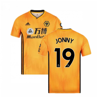 2019-2020 Wolves Home Football Shirt (JONNY 19)