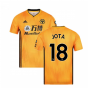 2019-2020 Wolves Home Football Shirt (JOTA 18)