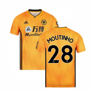 2019-2020 Wolves Home Football Shirt (MOUTINHO 28)