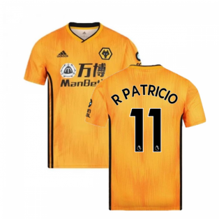 2019-2020 Wolves Home Football Shirt (R Patricio 11)