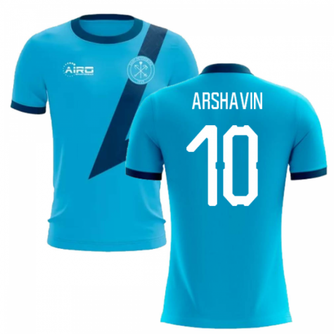 2019-2020 Zenit St Petersburg Away Concept Football Shirt (Arshavin 10)