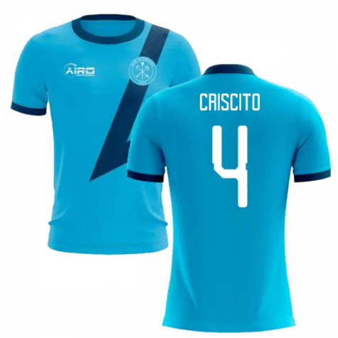 2020-2021 Zenit St Petersburg Away Concept Football Shirt (Criscito 4) - Kids