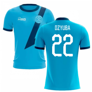 2019-2020 Zenit St Petersburg Away Concept Football Shirt (Dzyuba 22)