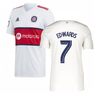 2019 Chicago Fire Adidas Away Football Shirt (EDWARDS 7)