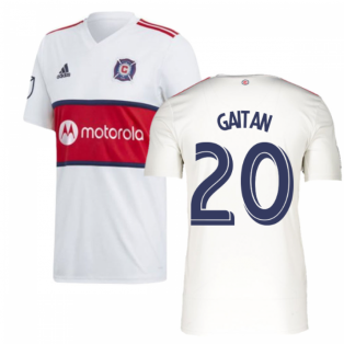 2019 Chicago Fire Adidas Away Football Shirt (GAITAN 20)