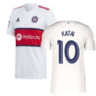 2019 Chicago Fire Adidas Away Football Shirt (KATAI 10)