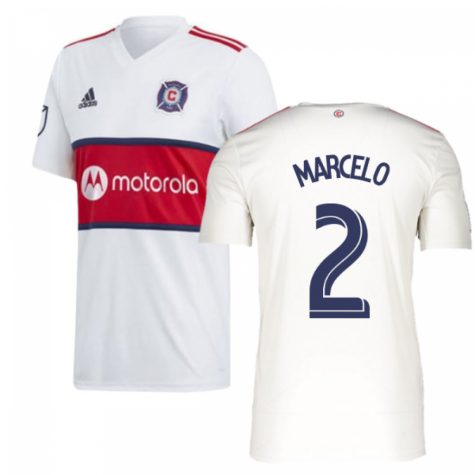 2019 Chicago Fire Adidas Away Football Shirt (MARCELO 2)