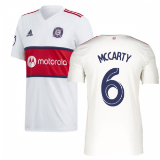 2019 Chicago Fire Adidas Away Football Shirt (MCCARTY 6)