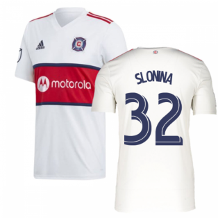 2019 Chicago Fire Adidas Away Football Shirt (SLONINA 32)