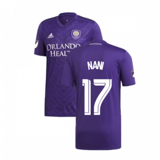 2019 Orlando City Adidas Home Football Shirt (Nani 17)