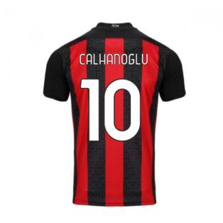 2020-2021 AC Milan Puma Home Football Shirt (CALHANOGLU 10)