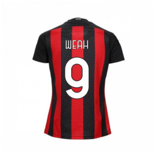2020-2021 AC Milan Puma Home Womens Shirt (WEAH 9)