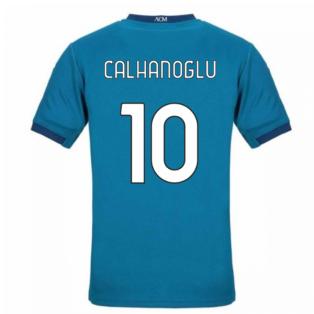 2020-2021 AC Milan Puma Third Football Shirt (CALHANOGLU 10)