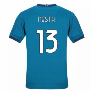 2020-2021 AC Milan Puma Third Football Shirt (NESTA 13)