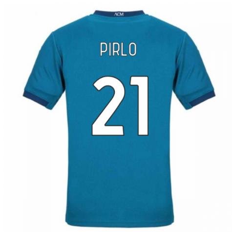 2020-2021 AC Milan Puma Third Football Shirt (PIRLO 21)
