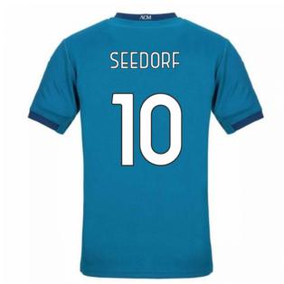 2020-2021 AC Milan Puma Third Football Shirt (SEEDORF 10)