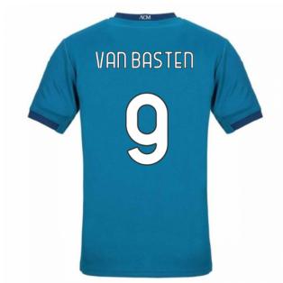 2020-2021 AC Milan Puma Third Football Shirt (VAN BASTEN 9)