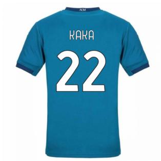 2020-2021 AC Milan Puma Third Shirt (Kids) (KAKA 22)