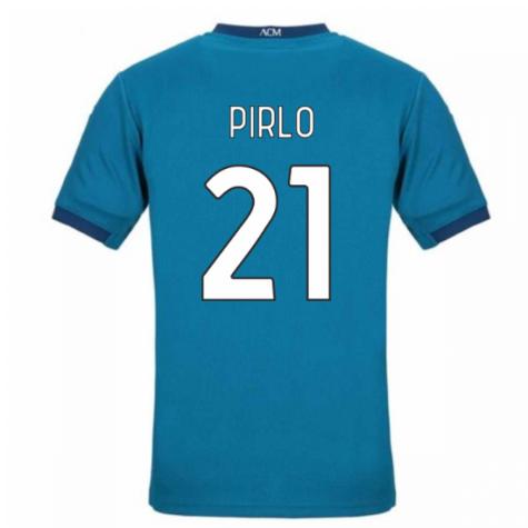 2020-2021 AC Milan Puma Third Shirt (Kids) (PIRLO 21)