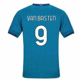 2020-2021 AC Milan Puma Third Shirt (Kids) (VAN BASTEN 9)